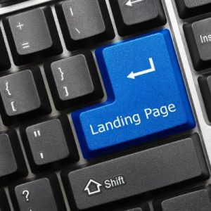 Add a Landing Page