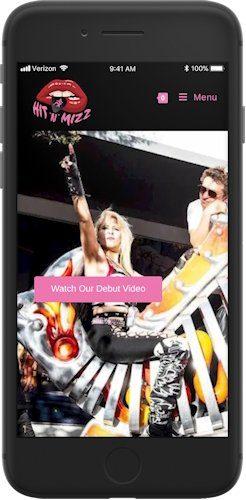 Hit 'N' Mizz website screenshot